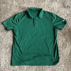 Two large men's Nike Golf polos